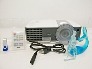 BenQ HDMI Short Throw Projector MW817ST REMOTE ~ MANUAL ~ NEW LAMP ~ REFURBISHED