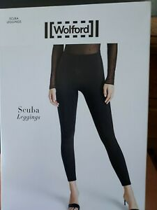 Wolford Scuba Leggings Black, XS