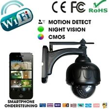 Easyn  CMOS 3X Zoom HD H.264 Wireless PTZ Pan/Tilt IR Cut Outdoor IP Camera