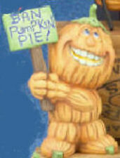 Ceramic Bisque Ready to Paint Ban Pumpkin Pie! elec. inc