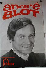 Affiche ANDRÉ BLOT Accordéon Années '60