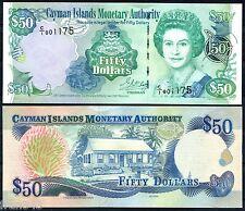 ISOLE CAYMAN CAYMAN 50 Dollars dollari 2001 Pick 29 SC / UNC