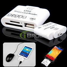 5in1 OTG USB Kit TF/SD/MS Card Reader Connection for Samsung Galaxy S4 S3 Tab 3