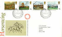 6 JUNE 1979 HORSERACING POST OFFICE FIRST DAY COVER BUREAU SHS
