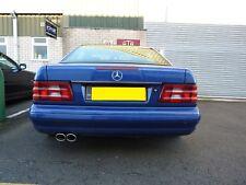 Mercedes R129 SL échappement R129 SL280 SL300 SL320 SL500 SL600 Silencieux Silencieux