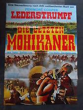 LEDERSTRUMPF - DIE LETZTEN MOHIKANER - Filmplakat A1 - Jack Taylor - WESTERN