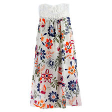 Womens Boho Sleeveless Midi Dress Summer Casual Loose Holiday Sundress Plus Size