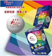 60 balls PALIO New material 3 star 40mm+ seamless Table Tennis Balls Pingpong