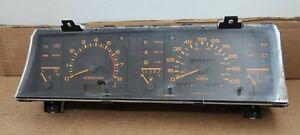 86-89 Nissan Pickup D21 Pathfinder M/T Instrument Speedometer Gauge Cluster 140K