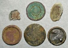 6 Civil War Relic Horse Rosettes as Worn by Cavalry Found in Central Virginia