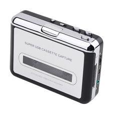 USB Cassette Capture, Cassette tape to CD MP3 converter, Cassette backup to PC