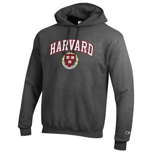 Harvard University Champion Pullover Sweatshirt Hoodie