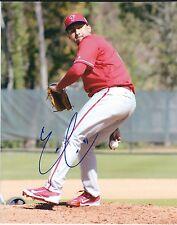 Signed 8x10 Ernesto Frieri Philadelphia Phillies Autographed photo- Coa