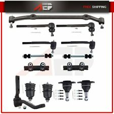 Complete 14 Suspension Kit Front Ball Joint Tie Rod End Sway Bar For BUICK REGAL