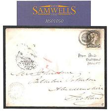 MS1050 1884 CANADA TRANSATLANTIC Ontario Cover Per *Glasgow Packet* CDS Scotland
