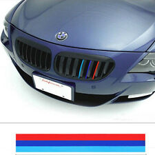 3Color Grille Grill Vinyl Strip Sticker Decal For BMW M3 M5 E36 E46 E60 E90 E92