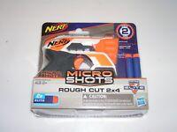 NERF Micro Shots ROUGH CUT 2x4 Series 2 Elite Darts N-Strike Hasbro BRAND NEW!