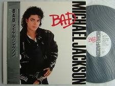 MICHAEL JACKSON BAD / JAPAN WITH OBI