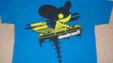 DEADMAU5 T-Shirt Size L DJ IN ACTION mens womens Rave Music Club Dance deadmaus