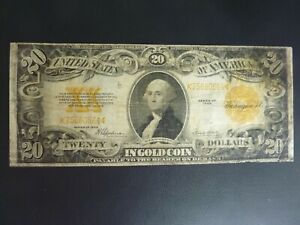 1922 $20 Gold Certificate Federal Reserve Note Speelman/White FR-1167 Must See!!