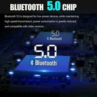 Car Bluetooth FM Transmitter 5.0 MP3 Player Dual USB Display Ports LED R6M1