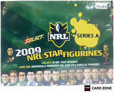 *2009 Select NRL Stars Figurines Factory Box A + Box B (50 Color + 10 Gold)VALUE