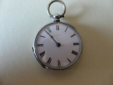 fob watch, for repair. Antique Silver Baume & Longines