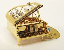 3239 Piano, Piano, Gold Plated, with swarowski Stones