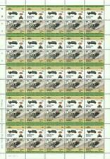 1921 BUGATTI Type 13 Brescia Race Car 50-Stamp Sheet (1984 Nukufetau TUVALU)