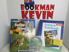 Glencoe Science Student Text/Workbook/CD Bundle Grade 8 lot of 3 VG2007 (R4F)915
