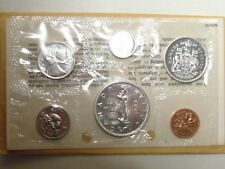 1966 CANADA Canadian Proof like PL .800 silver coin MINT set GREAT birthday gift