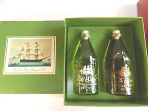 Vtg OLD SPICE LIME Mens AFTER SHAVE & COLOGNE 4 3/4 oz SHULTON Gift Set ship box