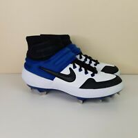 Nike Alpha Huarache Elite 2 Mid Baseball Cleats White [AJ6874-104] Men's Size 7