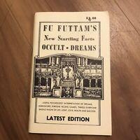Fu Futtam's New Startling Facts Occult Dreams Latest Edition Book RARE
