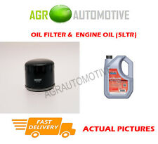 DIESEL OIL FILTER + FS 5W40 OIL FOR MITSUBISHI SPACE STAR 1.9 116BHP 2002-04