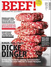 BEEF! Dicke Dinger BBQ Wagyu-Burger Ribs Heft Nr. 10 Ausgabe 2/2012 Neuwertig!