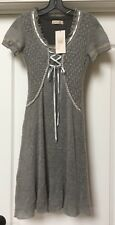 Rinascimento Collection Gray Knit Dress , size S,    Made In Italy, NWT