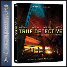 True Detective The Complete Second Season 5051892194723 DVD Region 2