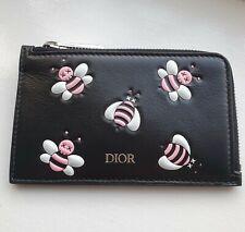 Dior x Kaws BEE ZIPPED CARD HOLDER