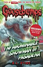 The Abominable Snowman of Pasadena (Goosebumps) by Stine, R.L. Book The Fast