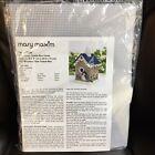 "Mary Maxim Birdhouse Tissue Box Cover Plastic Canvas Kit #17326 - 6"" x 8"" x  6"""