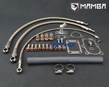 MAMBA Turbo Oil & Water Line Install Kit For Nissan RB25DET GT-R w/ Stock Turbo