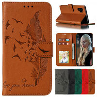 For Samsung Galaxy Note 20 Ultra Flip Magnetic Leather Wallet Stand Case Cover