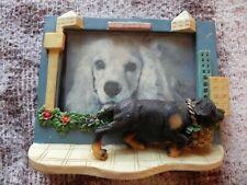 "Dog City Basket Carrier Resin 3D Photo Frame, 4"" X 6"" Photo, 5"" X 7"" Frame"