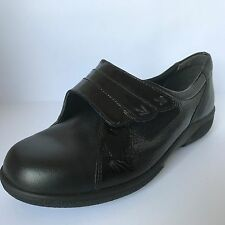 3fd6dc7494a2 Easy B Bakewell Black Black Patent 4E With Extra Wide Size 4 New £34.99