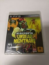 Red Dead Redemption: Undead Nightmare (Sony PlayStation 3, 2010) ps3 new