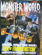 Famous Monsters Magazine-Basil Gogos-Chaney-Karloff-Lugo si-Horror-Frankenstein