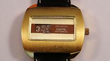 PEVANDA Jump Hour vintage watch automatic RARE
