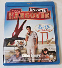 The Hangover Blu-ray Disc 2009 Rated/Unrated Warner Brothers Bradley Cooper