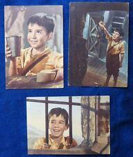 LOTTO 3 CARTOLINE - SCENE DAL FILM MARCELLINO PAN Y VIN - 1952-59